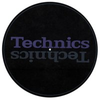 Technicsのターンテーブルを購入すると付属するスリップマットです。シンプルなデザインで使いやす...