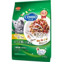 日本ペットフード コンボ キャット まぐろ味・かつおぶし・小魚添え 700g 1ケース12個セット