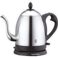 ラッセルホブス カフェケトル 0.8Lイギリスのおしゃれな電気ケトル。忙しい朝や急な来客など、必要な...