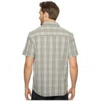 Ecoths エコース メンズ 男性用 ファッション ボタンシャツ Travis Short Sleeve Shirt - Agave Green