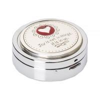 Brighton ブライトン レディース 女性用 バッグ 鞄 トラベルポーチ Joyful Heart Pill Box - Silver/Enamel