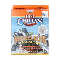 Hot Chillys ホットチリーズ レディース 女性用 ファッション Tシャツ Micro-Elite Chamois 8K Crew Neck - White