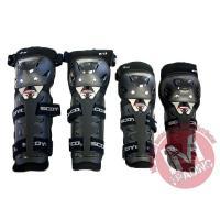 ●肘・膝がこのセットで保護できます! ●オフロード走行やツーリング等にお勧めです ●ベルクロで装着し...