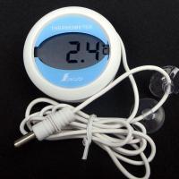 冷蔵庫用温度計72980は外部測定用のセンサー付きでコードを庫内に設置し、外から庫内温度を測定できる...