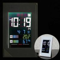 電波時計「デジスタイル114」はバックライトが常時点灯するいつでも見やすい卓上時計です。 時計以外に...