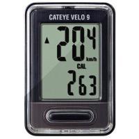 サイクロメーター「VELO9」CC-VL820は自転車に取り付けるスピードメーター。 スピードメータ...