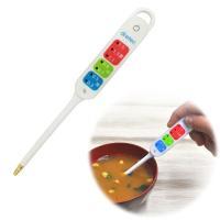 デジタル塩分計「健康塩分計」EN-900は味噌汁やスープ、煮物など汁物の塩分濃度を簡単にチェックでき...