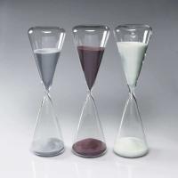 砂時計:シンプルな60分計のガラス砂時計O1042