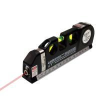 一台4役。水準器 ・レーザーポインター(水平、垂直、十字) ・2.5mメジャーテープ ・3方向水準器...