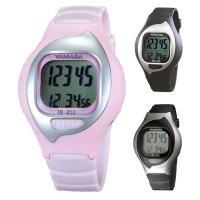 ヤマサ万歩計「とけい万歩」TM-350は左腕の振りを利用した腕時計式歩数計です。 腕時計タイプの万歩...