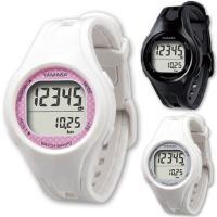 ヤマサ万歩計「とけい万歩」TM-400は歩いた振動や腕の振りで歩数をカウントする左手専用の腕時計式歩...