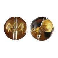 素 材:水晶サイズ:12mm玉水瓶座(みずがめ座) 水晶金彫り12mm玉ビーズです。表に絵柄、裏にシ...