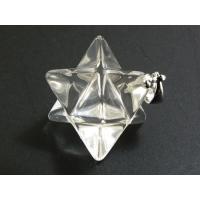 マルカバスターペンダントトップ 12mm 水晶(クリスタル)天然石 パワーストーン天然水晶のマカバス...