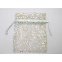 星と月柄オーガンジー透ける巾着袋※50枚まででしたら、メール便送付可能です。シワや複数枚購入の場合は...