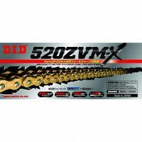 DIDチェーン ZVM-Xシリーズ 520ZVM-X 100L ゴールド|impex-mall