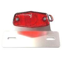 CGC-21020  ルーカスSテールランプ,赤、取付ブラケット付|impex-mall