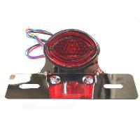 CGC-21035  ミニクラシックテールランプ,赤、取付ブラケット付|impex-mall
