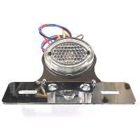 CGC-21036  ミニクラシックテールランプ,クリア、取付ブラケット付|impex-mall
