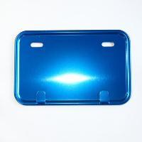 CGC-21803 箱型アルミ ナンバープレート(青) impex-mall
