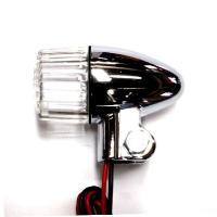 CGC-60160 191型LEDポジション付ウィンカーランプ 2個セット メッキボディ,クリアレンズ|impex-mall