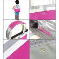 ケイトスペード kate spade バッグ トートバッグ PXRU3695 ピンク×クリーム garri barrow street ガリ バローストリート リボントート アウトレット レディース