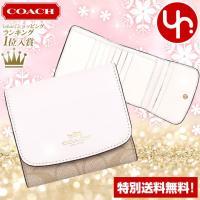 コーチ COACHの財布(三つ折り財布)です。 100円OFFクーポン付き Yahoo!ランキング入...