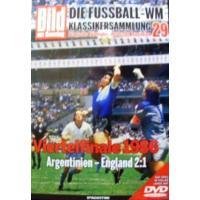 1986年サッカーワールドカップ準々決勝、アルゼンチン対イングランド(2対1)の一戦をフル収録したD...