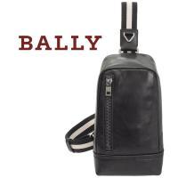 ◆バリー BALLY◆ ボディーバッグ スリングバッグ  ラグジュアリーなプレーンカーフレザーを使用...