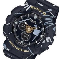 カシオ CASIO ベビージー BABY-G ジオメトリックデザイン クオーツ レディース 腕時計 ...