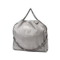 ディアスキンのような柔らかい質感で、自然な光沢を放つフォールドオーバートートバッグ「FALABELL...