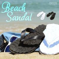 ビーチサンダル サンダル メンズ ビーサン アウトドア メンズシューズ ビーチ ボーダー improves 夏 夏服 夏物 サマー