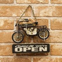 ブリキの素朴感が味のあるビンテージシリーズのOPEN&CLOSEプレート。 ご自宅やガレージ、ショッ...