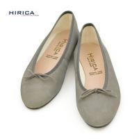すっきりとしたデザインのバレエシューズ。 ソールはペタンコで楽チン♪ ローヒールで甲が浅いタイプの靴...