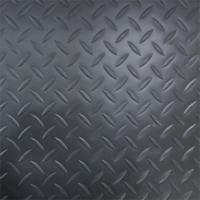 縞鋼板風防滑保護シート(ブラック・黒)  作業場・通路・階段等様々な箇所に使用できます。 カッターや...