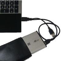 2.5インチのUSB外付けHDDケース シルバー(SATA用) ・特徴 *ACアダプター不要のUSB...