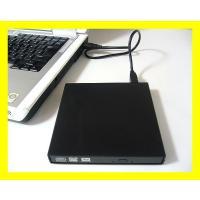 スリムSATA外付けDVD/CDドライブケース ◆ブラックベゼル付き ◆インターフェース:USB2....