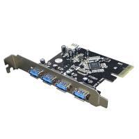 変換名人製  高速USB3.0用インターフェース  デスクトップ用  型番:PCIE-USB3/4 ...