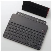 ELECOM製  iPad mini用 超薄型ワイヤレスキーボード  システム手帳にセットして使用で...
