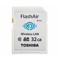 東芝 FlashAir フラッシュエアー Class10 SDHCカード Wi-FiSD WiFiS...
