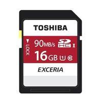 最大90MB/秒 EXCERIA N302 東芝製 SDHCカード 16GB Class10 THN...