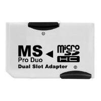 ★マイクロSDカードをメモリースティックProDuoに変換するアダプター ・PSP,PS3に対応! ...