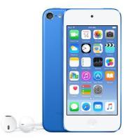iPod touch 16GB 最新世代第6世代 ブルーの新品未開封未使用品です。 付属品は全て揃っ...