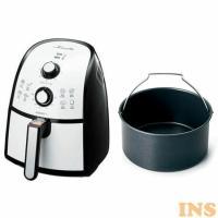 ノンフライヤー 家庭用 カラーラ 専用丸型鍋付き フライヤー ショップジャパン AWF005KD