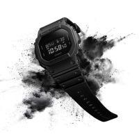 G-SHOCK Gショック ジーショック 限定 Solid Colors ソリッドカラーズ 逆輸入海外モデル カシオ CASIO デジタル 腕時計 オールブラック DW-5600BB-1