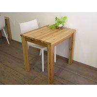 無垢材 リビング テーブル ダイニング カフェテーブル ナチュラルテイスト カントリー 北欧 小さな カフェ テーブル ナチュラル|instcompany