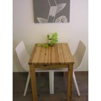 無垢材 リビング テーブル ダイニング カフェテーブル ナチュラルテイスト カントリー 北欧 小さな カフェ テーブル ナチュラル|instcompany|02