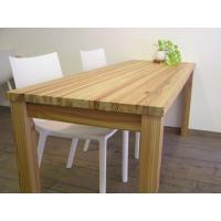 無垢材 リビング テーブル ダイニング カフェテーブル ナチュラルテイスト カントリー 北欧 大きな カフェ テーブル ナチュラル|instcompany|03