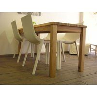 無垢材 リビング テーブル ダイニング カフェテーブル ナチュラルテイスト カントリー 北欧 大きな カフェ テーブル ナチュラル|instcompany|04