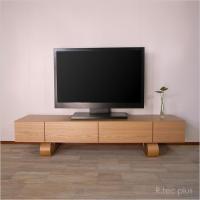 販売終了 工場直売だから安い テレビ台 おしゃれ 北欧 完成品 ナラ オーク 幅160cm|instcompany