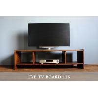 キャビネット 幅126cm ウォールナット 無垢 木製 テレビ台 eye_tv126|instcompany|02